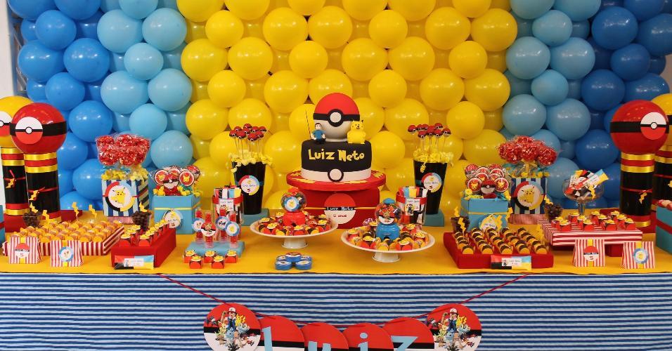 festa pokemon- mesa principal