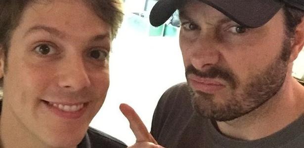 Fabio Porchat e Danilo Gentili são bons amigos, mas rivais na programação da TV  - Reprodução/Instagram/danilogentili