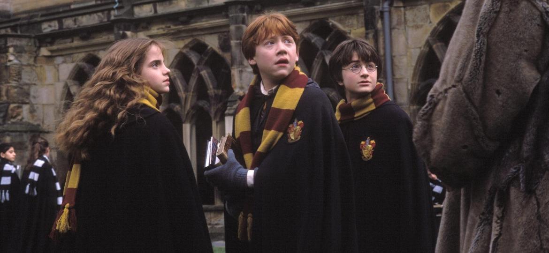 """Cena do filme """"Harry Potter e a Câmara Secreta"""" (2002), de Chris Columbus - Reprodução"""