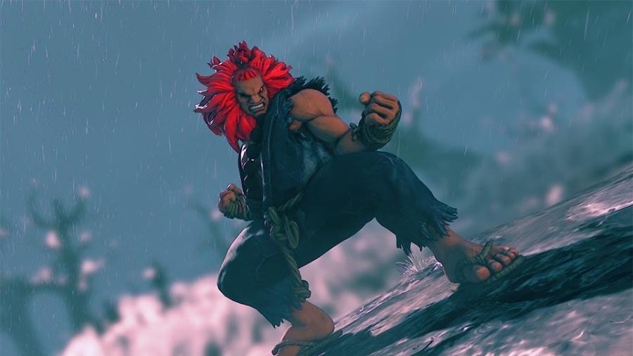 Street Fighter V Akuma - Divulgação