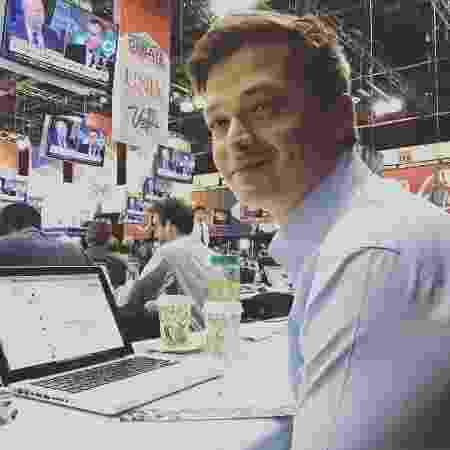 Repórter da Rede Globo Felipe Santana - Reprodução/Facebook/sfelipe