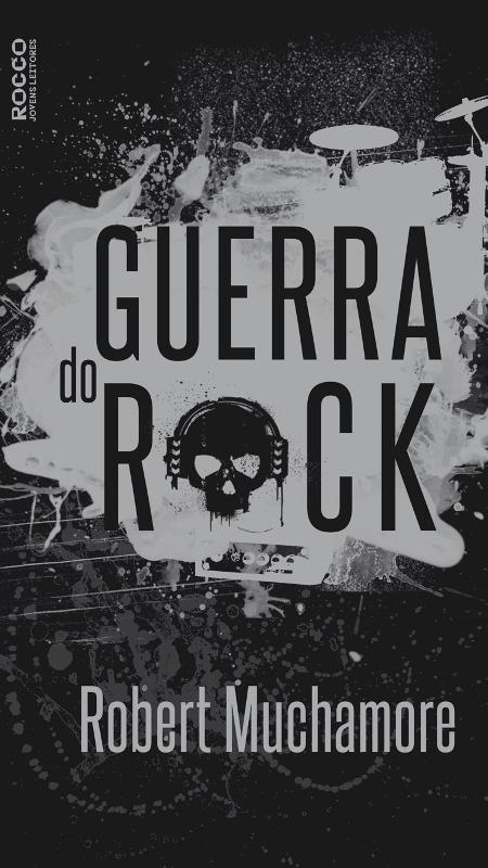 """Capa do livro """"A Guerra do Rock"""" - Divulgação"""