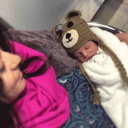 Carol Castro e a filha, Nina - Reprodução/Instagram/castrocarol