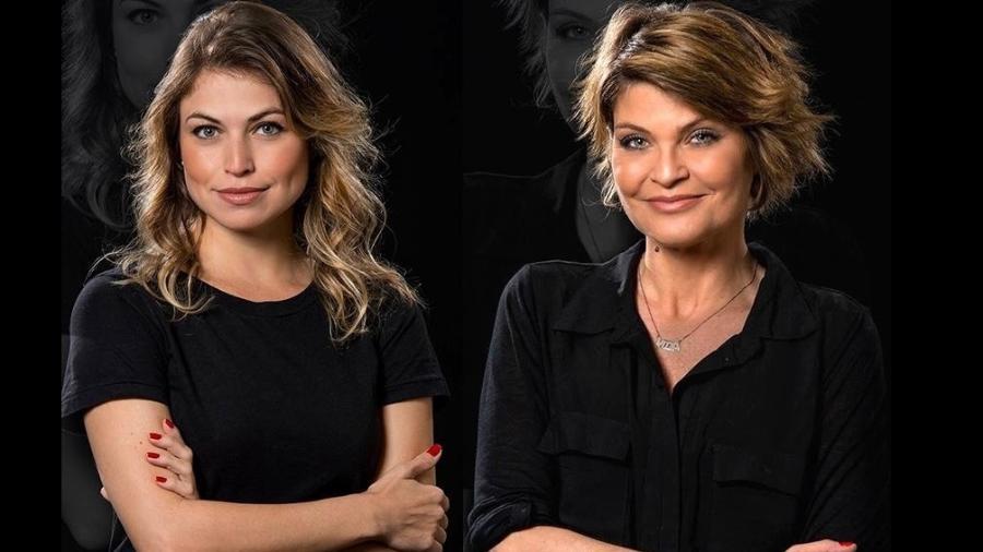 Carol Costa e Débora dos Reis vão dar vida a Hebe na fase jovem e madura - Reprodução/Facebook Hebe - O Musical