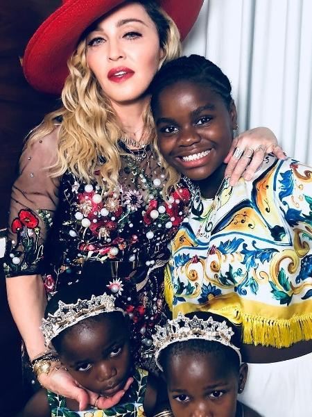 Madonna e filhas - Reprodução/Instagram