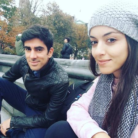 Marcelo Adnet e a estudante gaúcha Patrícia Cardoso - Reprodução/Instagram