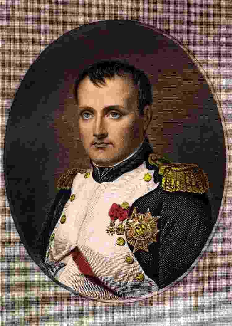 Consegue ver a semelhança? Um retrato do verdadeiro Napoleão Bonaparte - Getty Images - Getty Images
