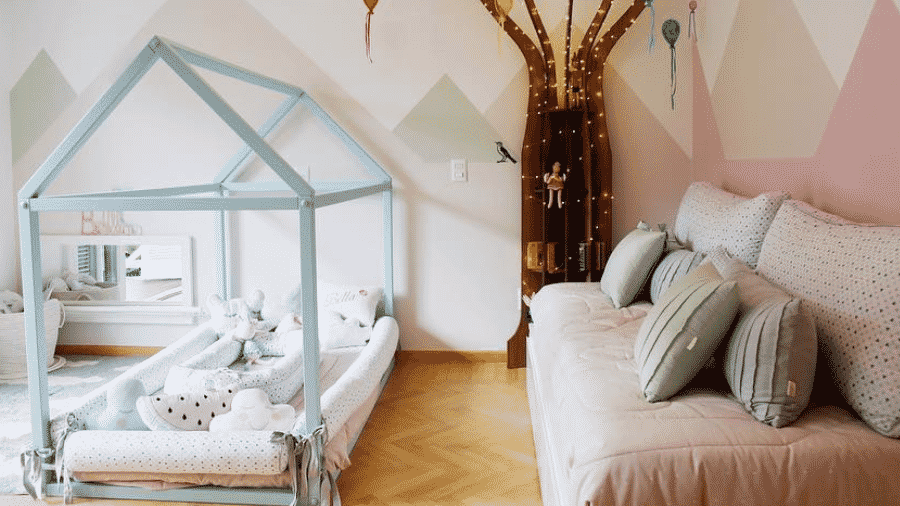 Débora Nascimento mostra o quartinho da filha - Reprodução/Instagram