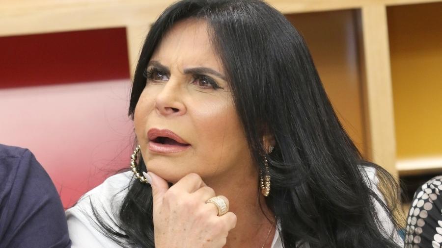 """Gretchen no lançamento do reality """"Os Gretchens"""", do canal pago Multishow - Thiago Duran/AgNews"""