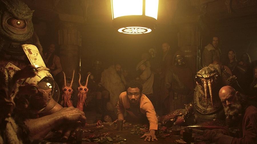 """Lando aposta sua nave em """"Han Solo: Uma Aventura Star Wars"""" - Reprodução"""