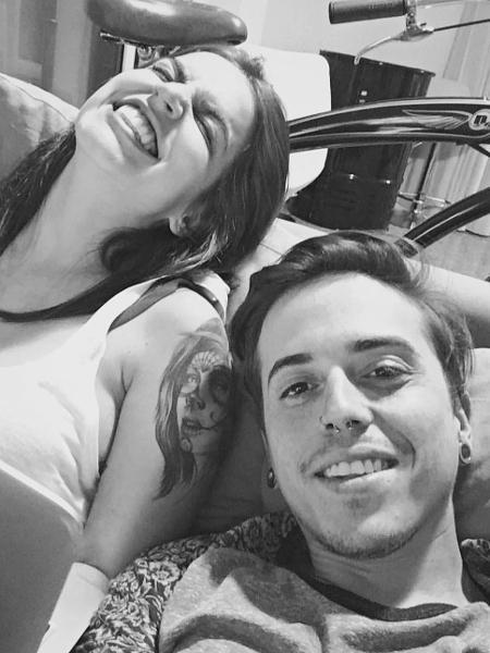 Cantor DH e Bruna Unzueta anunciam fim do casamento - Reprodução/Instagram
