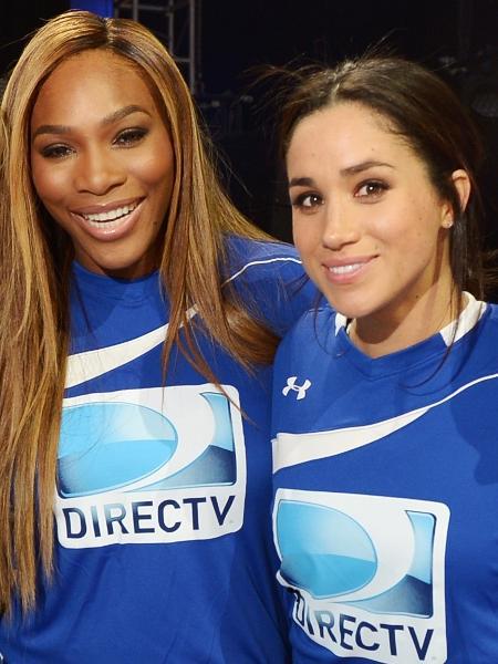 Serena Williams e Meghan Markle em 2012 - Getty Images