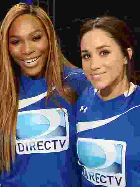 Serena Williams e Meghan Markle em 2012 - Getty Images