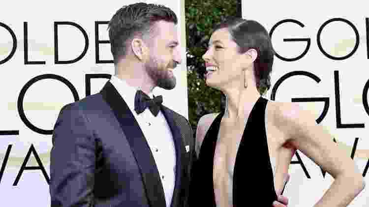 Justin Timberlake e Jessica Biel  - Frazer Harrison/Getty Images - Frazer Harrison/Getty Images