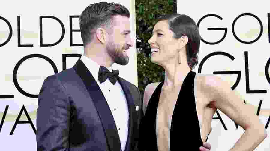 O casal Justin Timberlake e Jessica Biel está junto há sete anos - Frazer Harrison/Getty Images