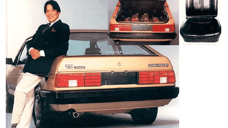 """Chevrolet Monza """"Clodovil Hernandes"""" - Divulgação - Divulgação"""