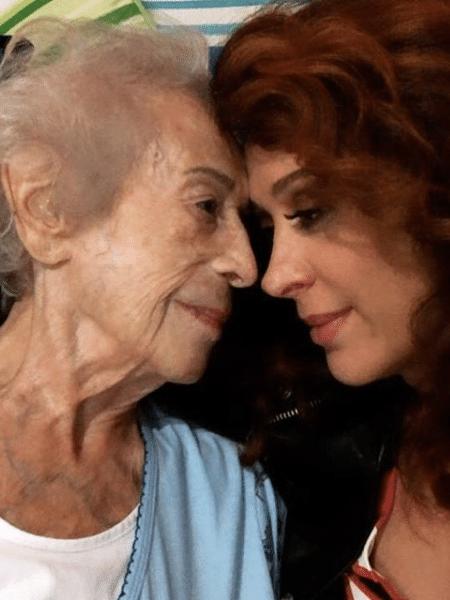 Claudia Raia com a mãe, Odette - Reprodução/Instagram