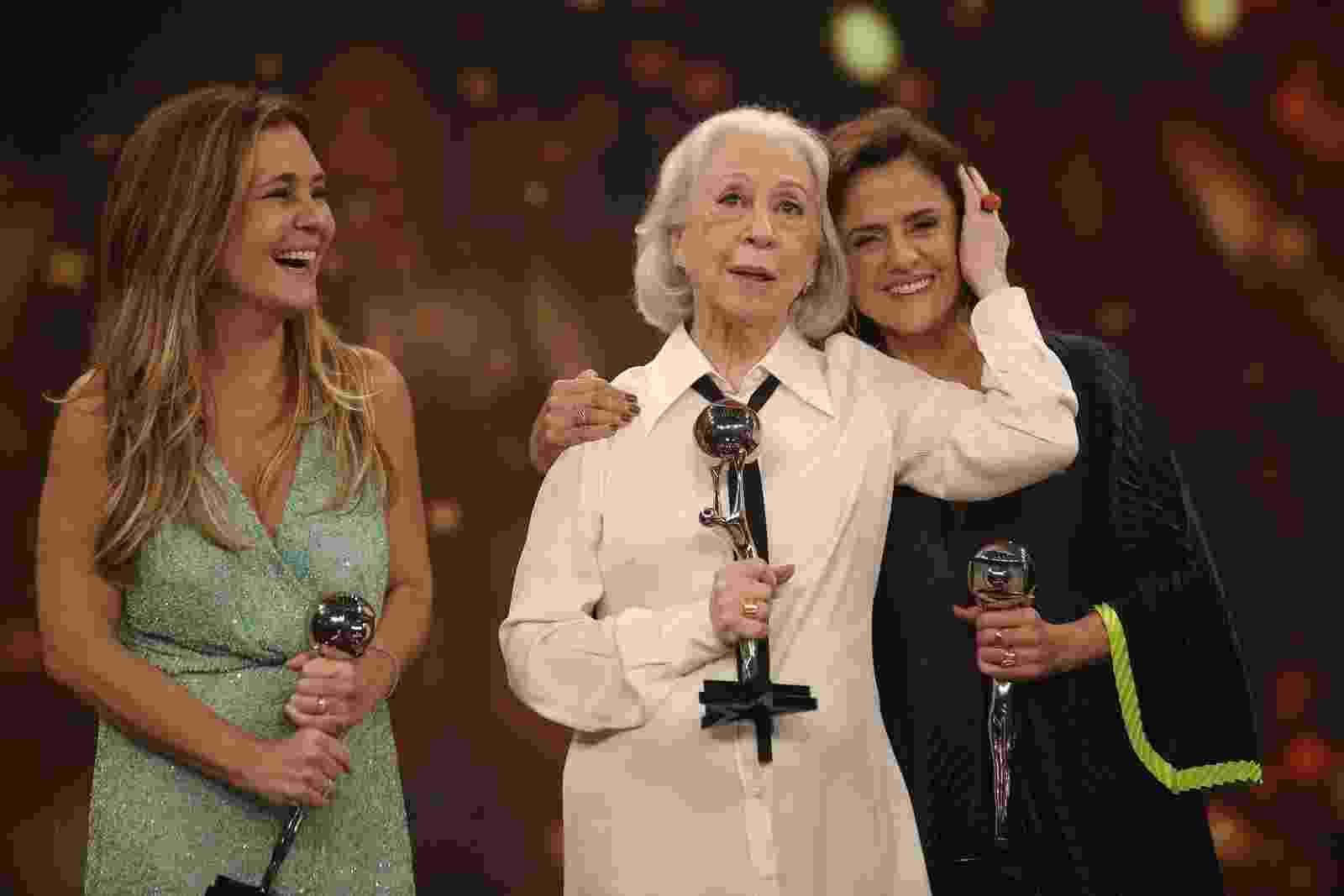 Personagem do ano: Adriana Esteves, Fernanda Montenegro e Marieta Severo - Reprodução/Gshow