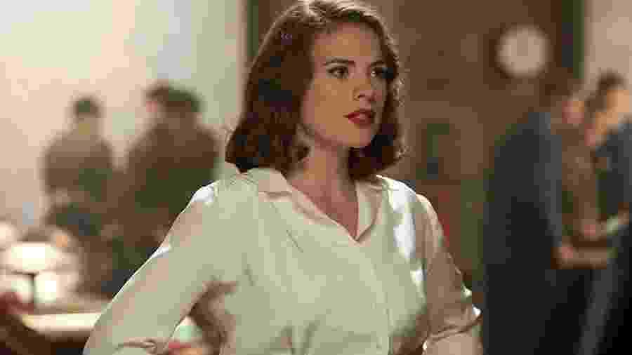 Hayley Atwell como Peggy Carter - Reprodução