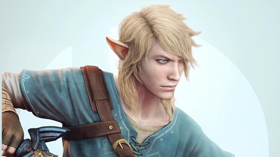 """Link recriado pelo diretor de arte de """"God of War"""" - Reprodução/Instagram/rafagrassetti"""