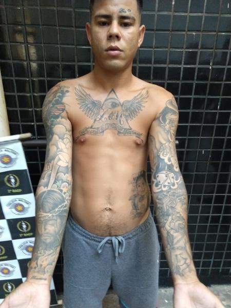 Mc Lon é preso em Praia Grande, litoral de SP - Divulgação/Polícia Militar