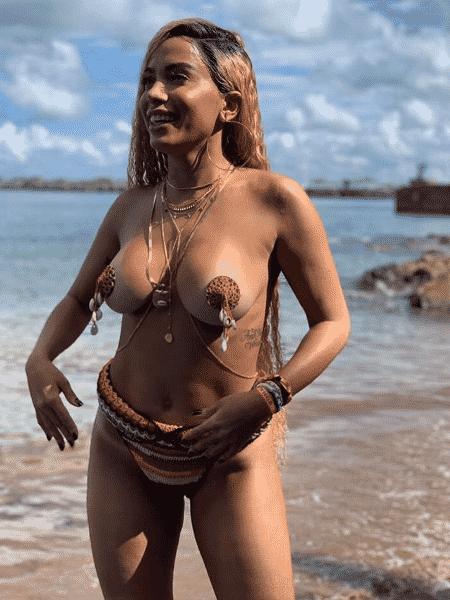 """A cantora Anitta grava clipe de """"Bola, Rebola"""" em Salvador - Reprodução/Instagram - Reprodução/Instagram"""