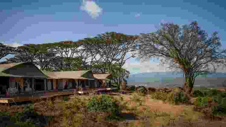 Glamping Entamanu Ngorongoro (Tanzânia) - Divulgação/nomad-tanzania.com - Divulgação/nomad-tanzania.com