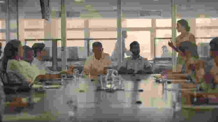 Cena gravada dentro do prédio da Folha de S.Paulo - Divulgação