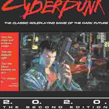 Capa do livro de RPG tem até citações de Johnny Silverhand - Divulgação