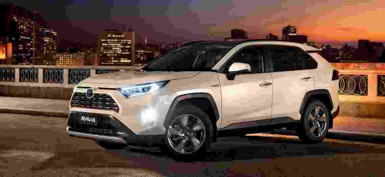 Toyota RAV4 2020 rende 222 cv com motor 2.5 a gasolina e outros três motores elétricos; SUV vem do Japão - Divulgação