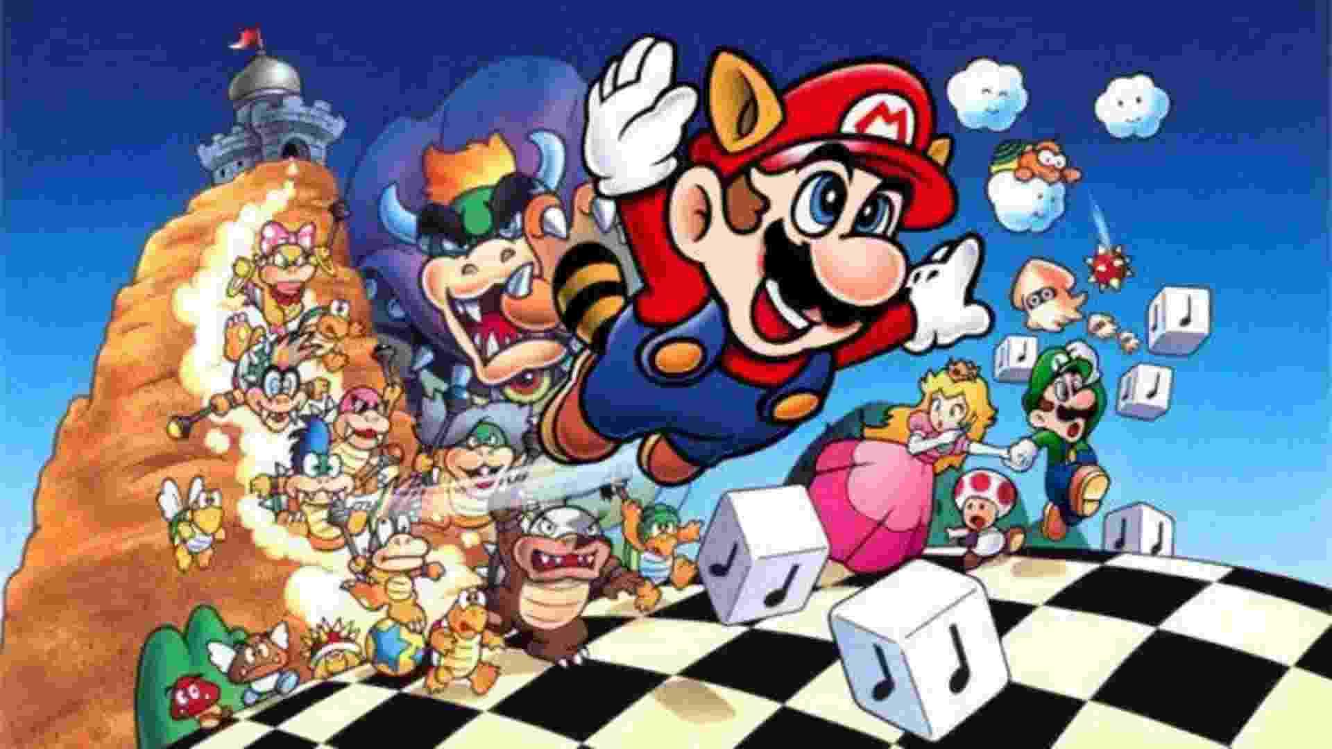 Super Mario - Jogos - Reprodução