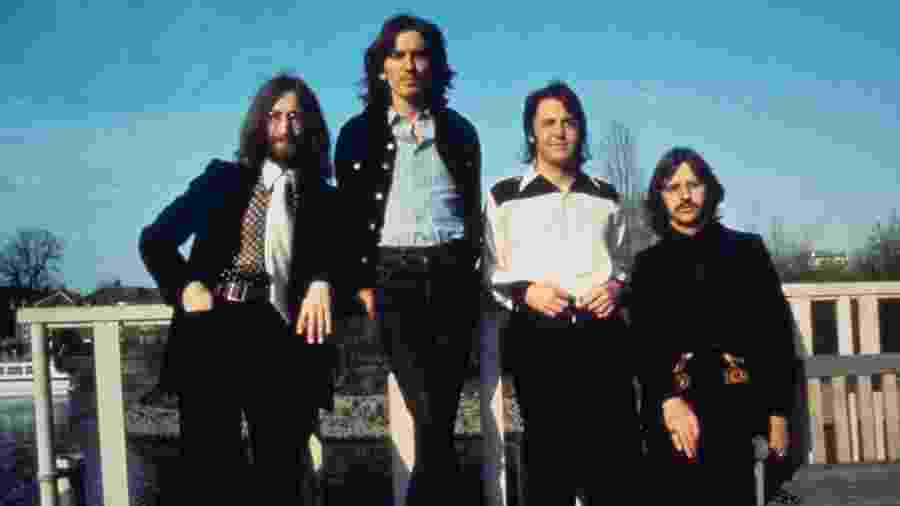 John Lennon, George Harrison, Paul McCartney e Ringo Starr em 1969 - Reprodução