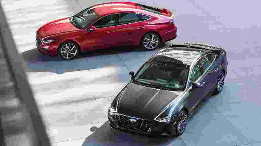 Hyundai Sonata 2020 - Divulgação