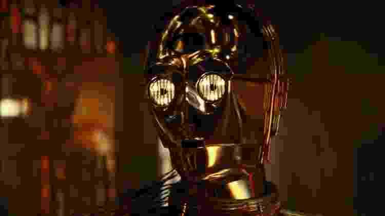 C-3PO no trailer de Star Wars - A Ascensão Skywalker  - Reprodução/YouTube - Reprodução/YouTube