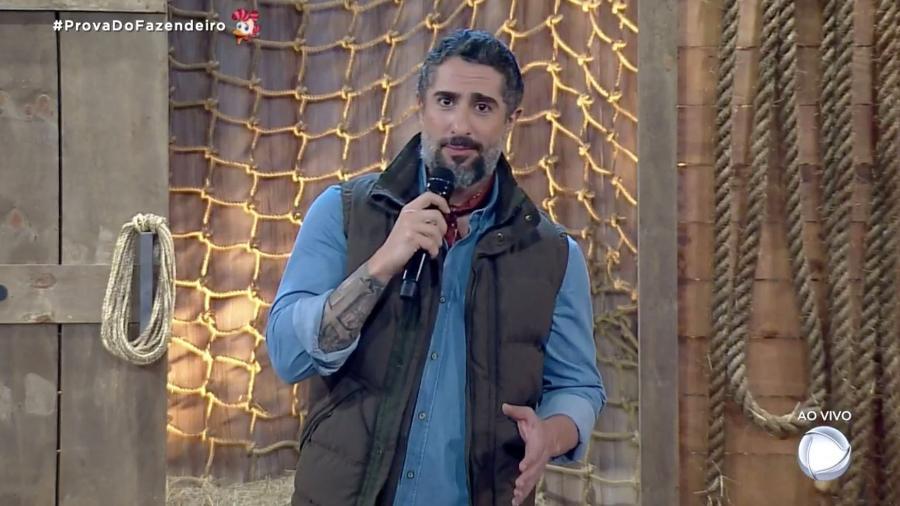 Marcos Mion apresenta prova do fazendeiro em A Fazenda 2019 - Reprodução/RecordTV
