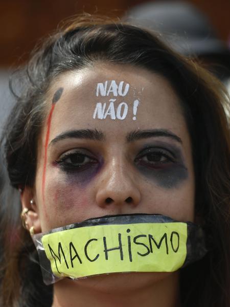 Manifestaçãp do 8 de março, realizada em 2020 - Mateus Bonomi/AGIF