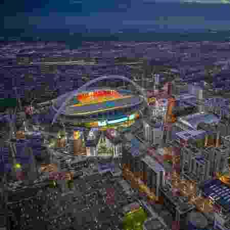 Wembley, em Londres - Divulgação