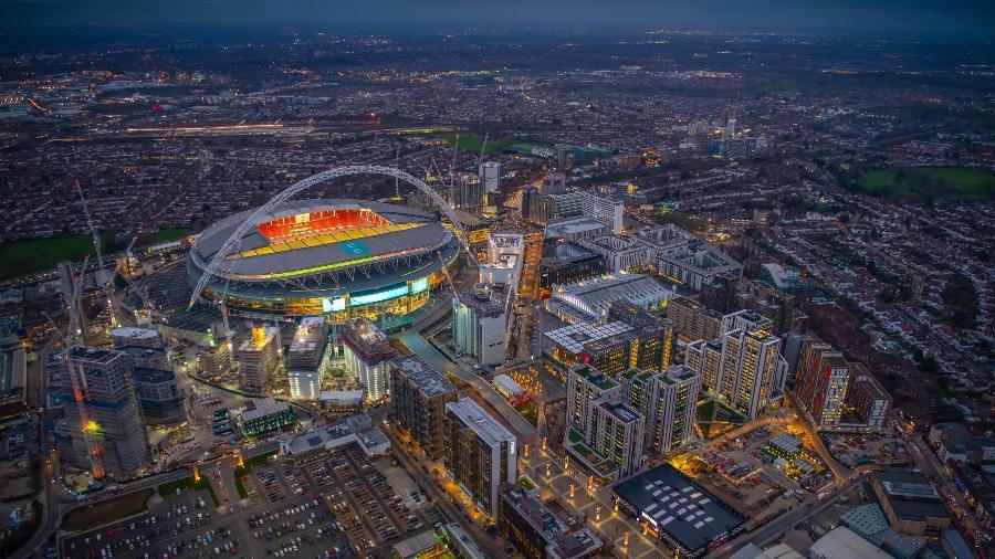Wembley, em Londres, deve ser a sede da final da Champions - Divulgação