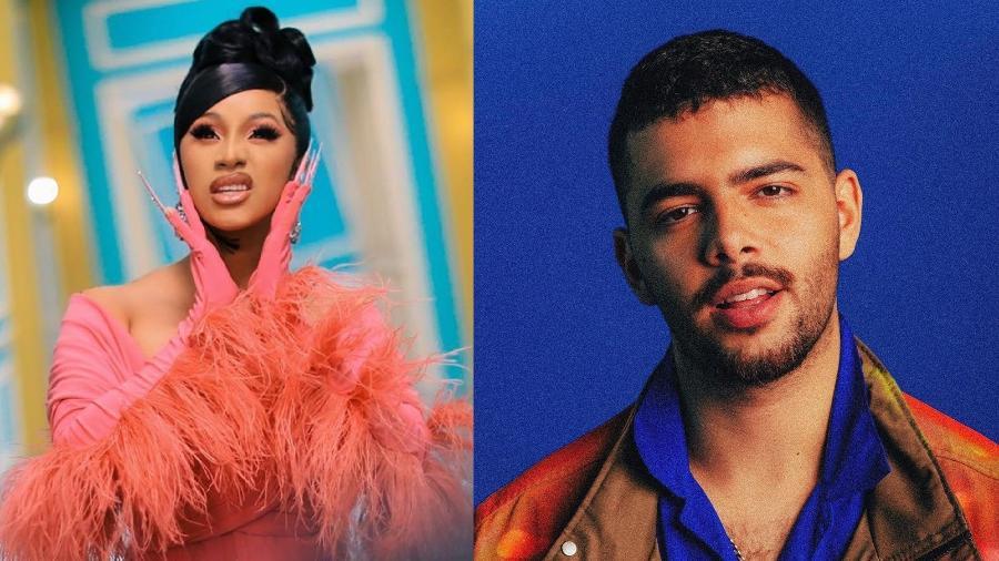 """Pedro Sampaio fez remix de """"Wap"""" de Cardi B que acabou no Grammy 2021 - Reprodução/Instagram"""