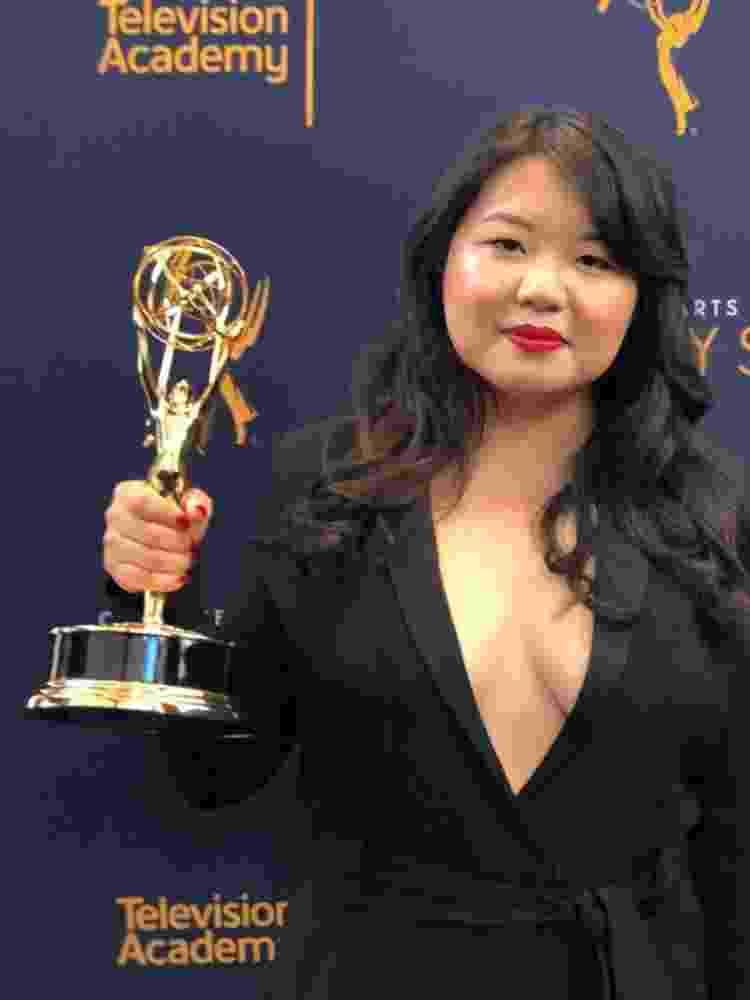 A roteirista Jessica Gao - Reprodução - Reprodução