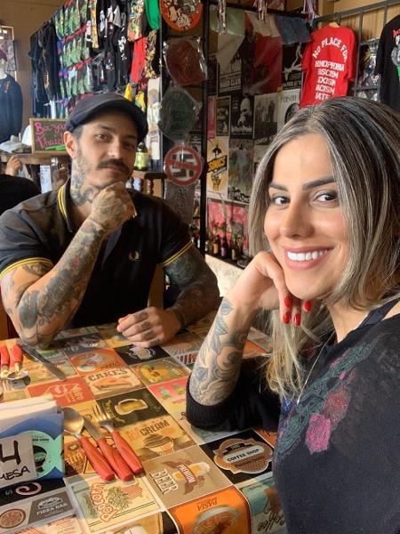 Vanessa Mesquita e Martin Scholl  - Reprodução/Gshow/Instagram