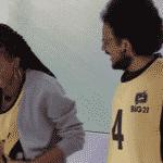 BBB 21: João e Camilla na final da prova do líder - Reprodução/Globoplay