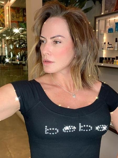 Nubia Oliiver diz que tentou romance com Mano Menezes - Reprodução/Instagram@nubiaoliiver