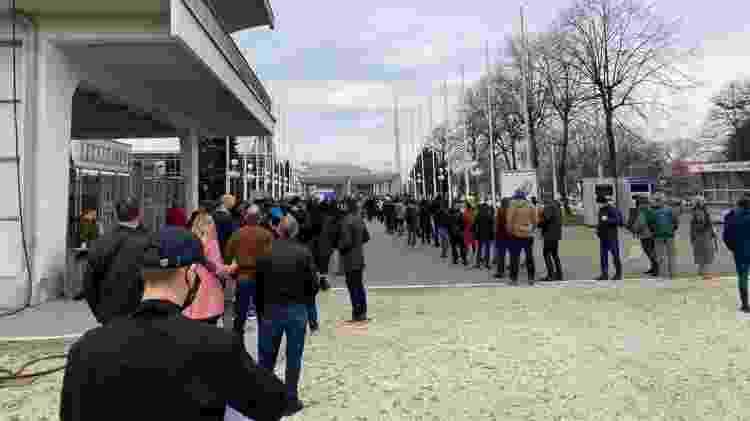 Belgrade Fair Servia Fila  - Arquivo pessoal - Arquivo pessoal