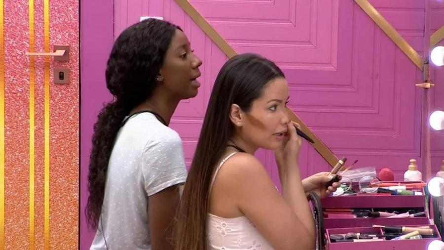 BBB 21: Juliette e Camilla se arrumam para a grande final - Reprodução/ Globoplay