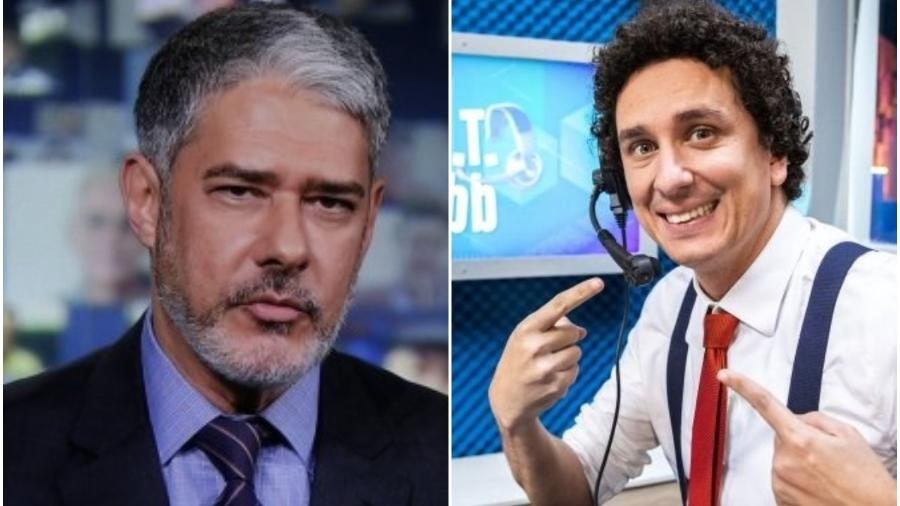 Rafael Portugal comentou novo estilo de William Bonner - Reprodução: Twitter