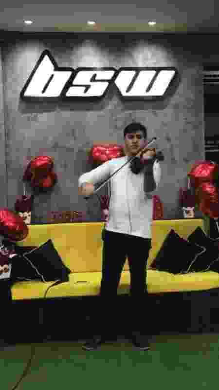 violinista - Divulgação - Divulgação