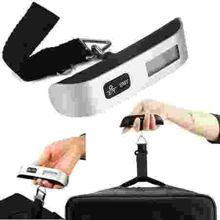Balança para pesar bagagem - Divulgação - Divulgação