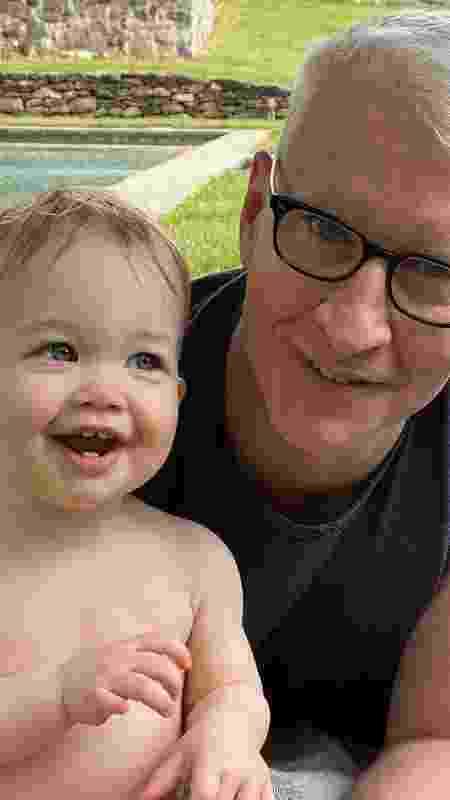 Anderson Cooper e o filho, Wyatt - Instagram/@andersoncooper - Instagram/@andersoncooper