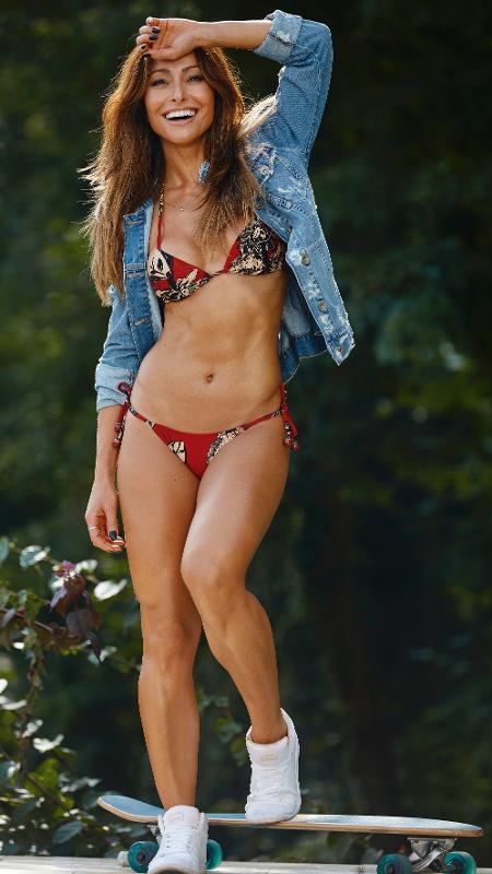 """A apresentadora Sabrina Sato é a garota da capa da revista """"Boa Forma"""" de junho - Bruna Castanheira/Boa Forma"""